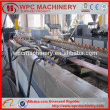 WPC Production Line Wood plastic composite fence panels making machine