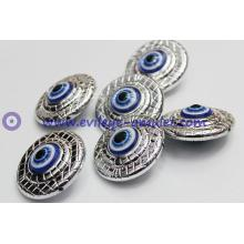 Nazar evil eyeball round resin charm accessories
