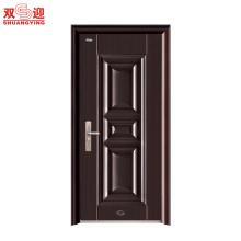 2017 puertas de seguridad de acero residenciales baratas del diseño italiano barato de alta calidad
