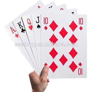 Eastony 8 x 12 inches Jumbo Playing Cards