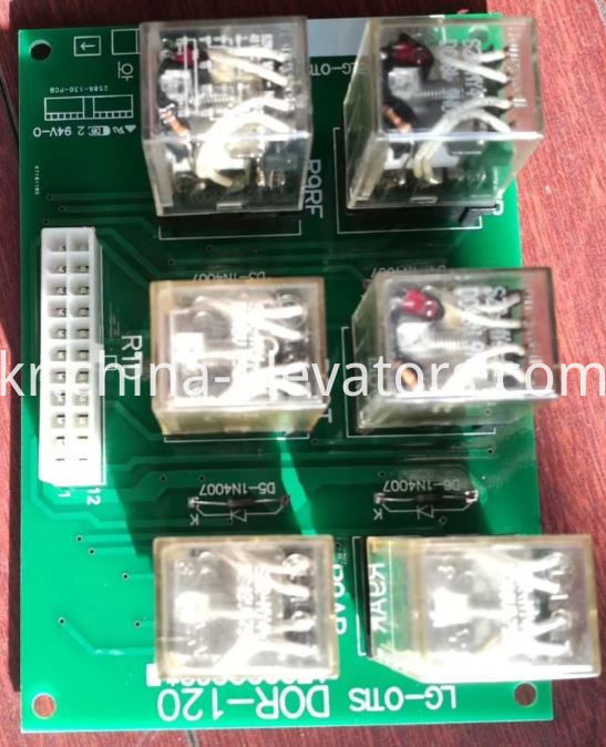 Relay PCB DOR-120 for LG Elevators