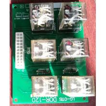 Relay PCB DOR-120 LG Elevators