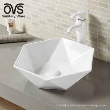 lavabo de lavado de cara de lavabo de porcelana de nueva llegada
