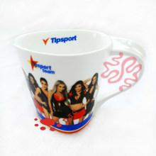 Keramik-Fußball-Fan-Geschenk Kaffeehaferl
