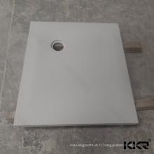 Receveur de douche en surface pleine sur mesure 80x80