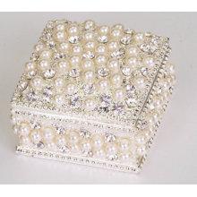 Cadeau d'anniversaire de boîte à bijoux en perle