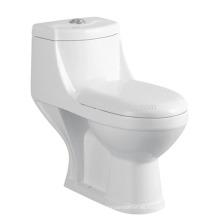 CB-9078B India Style Toilet Siphonic One Piece Toilet Confort altura compacta Elongated toilet wc precio