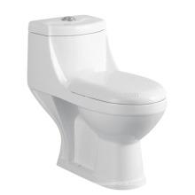 CB-9078B India Style Toilet Siphonic One Piece Toilet Comprimento de altura compacto Alongado WC wc preço