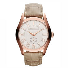 Fashion Brown Leather Quartz Watch
