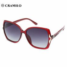 Nuevas gafas de sol personalizadas con logotipo de metal, diseña tus propias gafas.