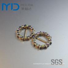 Round Star ornamentos com strass claro para sapatos, bolsas, bonés e Apparels