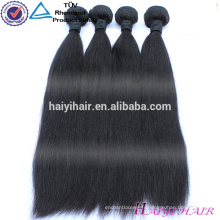 Gros stock en gros Virgin Remy extensions de cheveux indiens