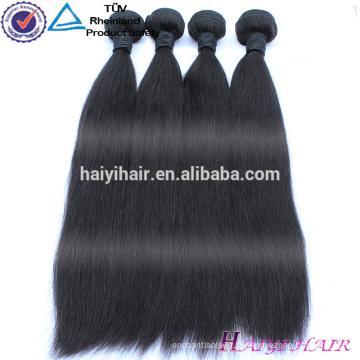 Gros stock en gros Virgin Remy extensions de cheveux indiens