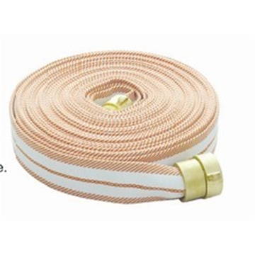 Color fire hose for fire cabinet