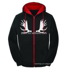 Baixa quantidade personalizado próprio design pulôver hoodies preço barato xxxxl hoodies e camisola