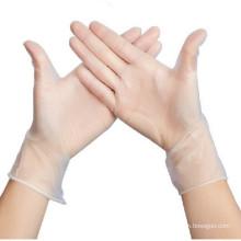 Gants d'examen de PVC pour la vérification