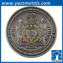 moedas personalizadas individuais para presentes
