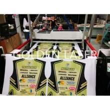 Dye Sublimation Textile Laser Cutting Machine
