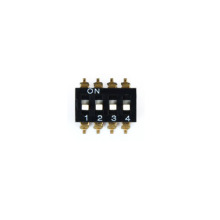SMT-04 SMT série interruptor DIP switch 1.25mm