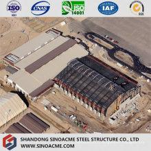 Usine industrielle lourde de structure métallique avec la ventilation