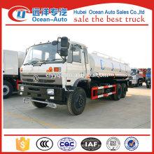 Dongfeng camión 6x6 18ton camión de entrega de agua, camión cisterna de entrega