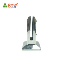 Stainless steel Simple and beautiful 304 glass fittings clamp stainless steel spigot