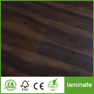 Black Hdf Core Laminated Flooring Waterproof