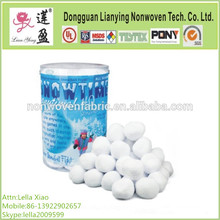 Polyester Fiber Snow Ball for Christmal Decoration