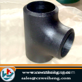A335 P5 alloy steel equal tee