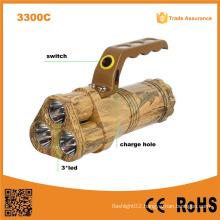 Handheld Long Range 10W LED Rechargeable LED Torch Light