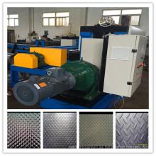 Personalizar dimond acero proveedores de línea de producción de máquina de grabación en relieve