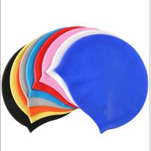 Изготовленная на заказ силиконовая шапочка для плавания с логотипом для взрослых