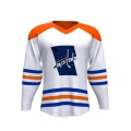 Custom Team Sport Wear Maillot de Hockey sur Glace Slim Fit Coloré Gros Sublimation En Gros