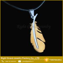 Grande desconto de aço inoxidável colar de pingente de jóias