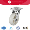 Plaat Swivel PP RVS Caster