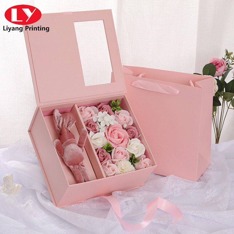 Valentine S Day Flower Box3