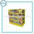 Point Of Sale Double Side Shelf Display Rack,Large Storage Supermarket Promotional Shelving Racks