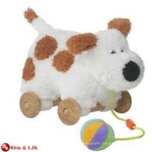 customized OEM design pull along dog