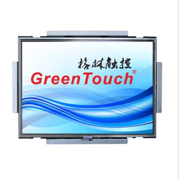 Tela colorida de 19 polegadas do monitor de toque resistente