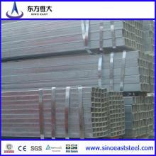 Tubo de acero cuadrado Q345 de 100 * 50 mm