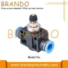 Valve de contrôle de débit d'air d'actionneur pneumatique 1/4 '' 3/8 ''