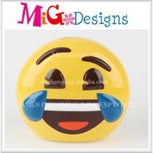 Керамика ручной работы подарок оптом Smile Face Pig Bank