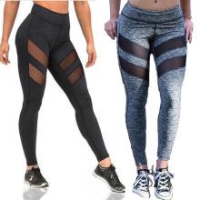 Спандекс сексуальная девушка Йога узкие брюки фитнес запуск Леггинсы для женщин