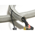 Self Wrap Split Closing Braided Sleeve For Cable