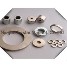 N45 Rare Earth Neodymium Ring Magnet with Zinc Plating