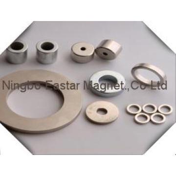 N45 Rare Earth Neodymium Ring Magnet with Zinc Plating