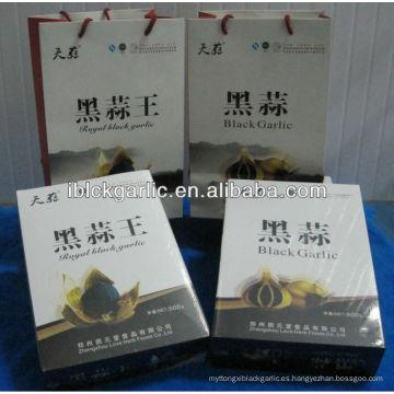 2014 Nuevo Ajo Negro Orgánico 500g / caja