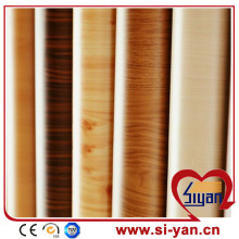 Pvc wood grain heat shrink film