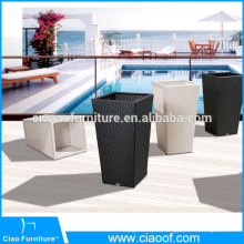 Rattan Planter Pot Home Garden Furniture Flower Pot