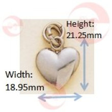 Mini Heart Zipper Puller (G8-183A)